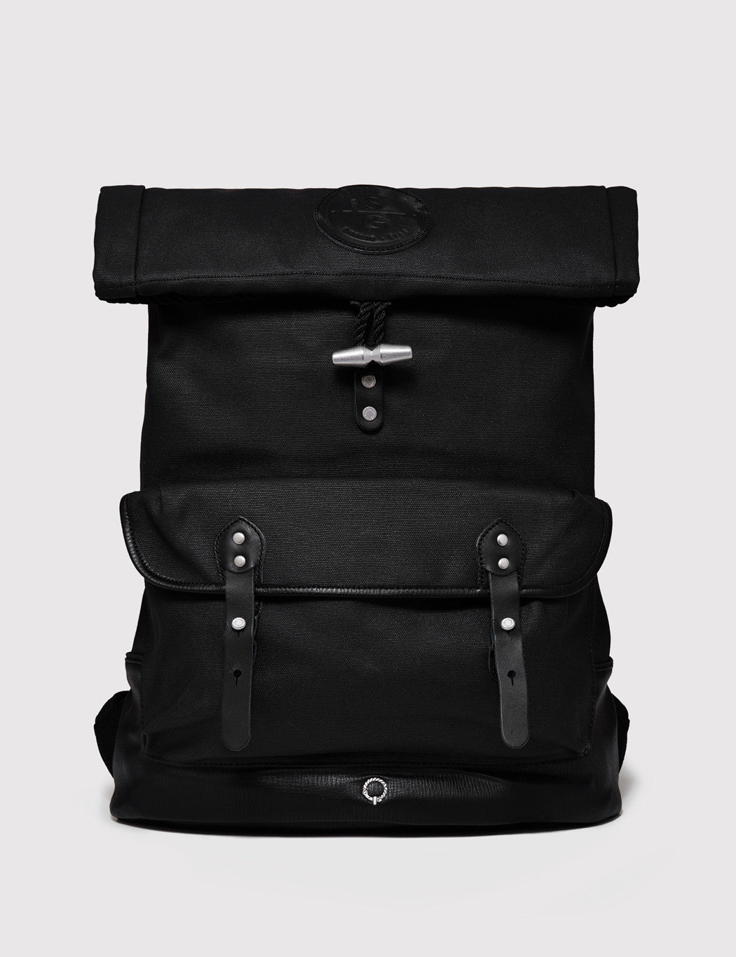 Stighlorgan Reilly Canvas Backpack - Black