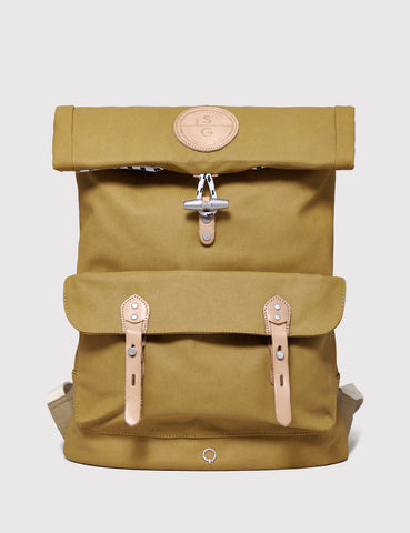 Stighlorgan Reilly Canvas Backpack - Yellow