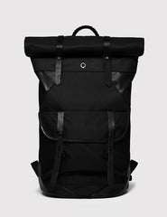 Stighlorgan Ronan Rolltop Laptop Backpack - Black