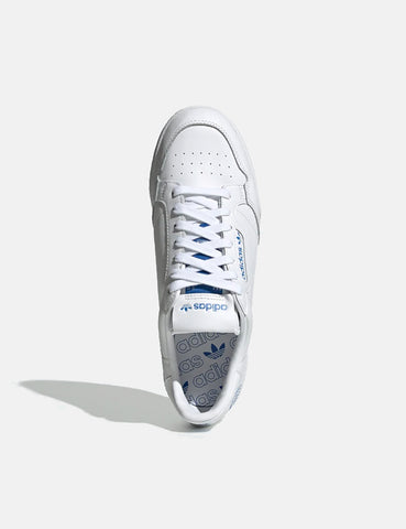 adidas Continental 80 (FV3743) - Cloud White/Cloud White/Bluebird