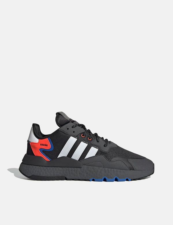 Adidas Nite Jogger (FX6834) - Cloud White/Grey Six/Acid Mint
