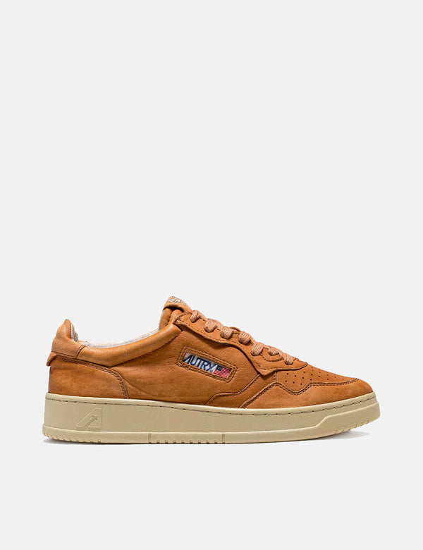 Autry Medalist GG22 Trainers (Goat Leather) - Rum