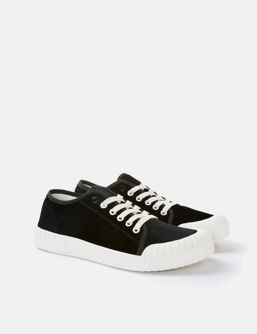 Good News Softball Low Trainers (Velvet) - Black