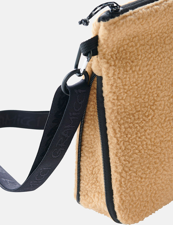 Gramicci Boa Fleece Adjustable Sacoche - Beige