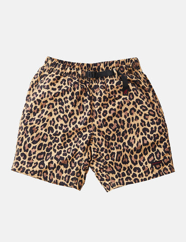Gramicci Shell Packable Shorts - Leopard Print