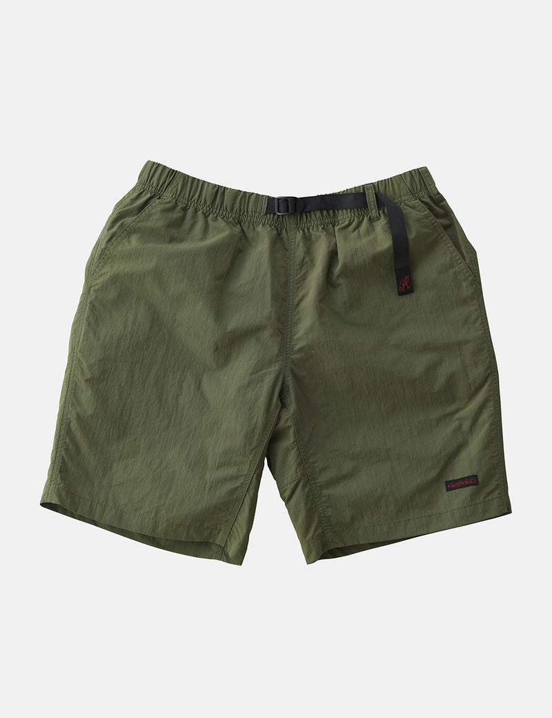 Gramicci Shell Packable Shorts - Olive Green