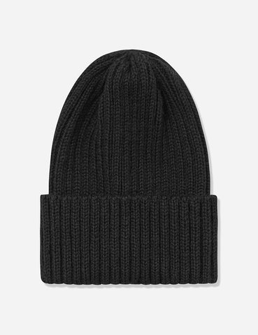 Highland 2000 Ribbed Beanie Hat - Black