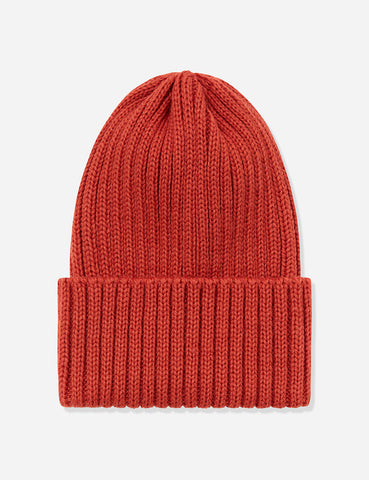 7d7469fb778 Highland 2000 Ribbed Beanie Hat - Rust ...