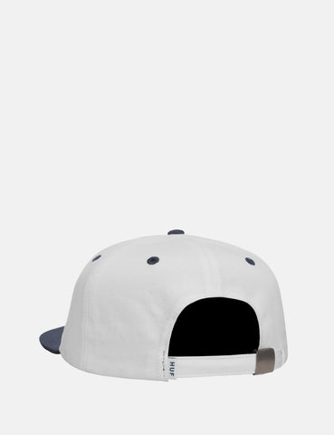 Huf Genuine 6 Panel Cap - Navy Blue