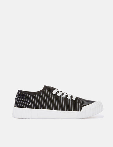 Good News Hurler Low Trainers (Canvas) - Black