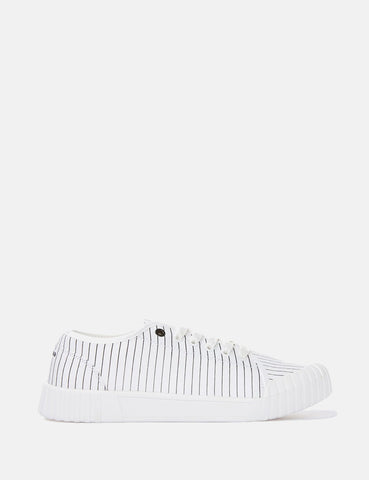 Good News Hurler Low Trainers (Canvas) - White
