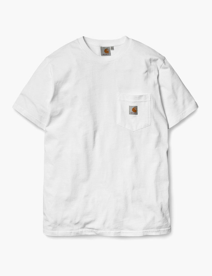 Carhartt Pocket T-Shirt - White