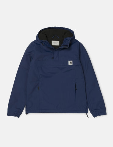 Womens Carhartt Nimbus Half-Zip Jacket (Fleece Lined) - Metro Blue