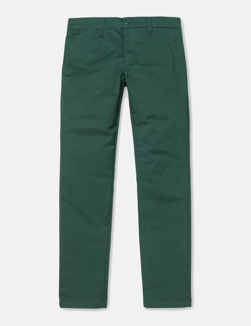 Carhartt-WIP Sid Pant Chino (Slim) - Dark Fir Green