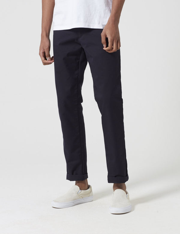 Carhartt-WIP Sid Pant Chino (Slim) - Dark Navy Blue