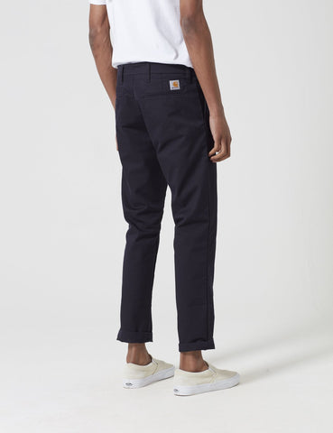 Carhartt Sid Pant Chino - Dark Navy Blue