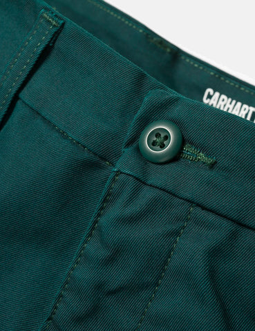 Carhartt Sid Pant Chino (Slim) - Parsley Green