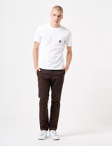 Carhartt Sid Pant Chino (Slim) - Tobacco Brown