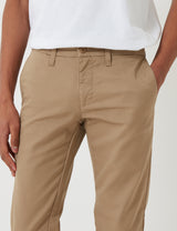 Carhartt-WIP Sid Pant Chino (Slim) - Khaki Leather Rinsed