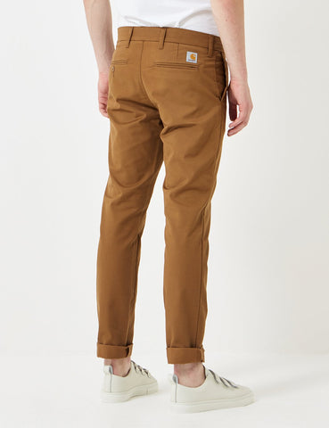 Carhartt Sid Pant Chino (Slim) - Hamilton Brown