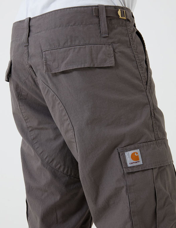 Pantalon Carhartt-WIP Aviation (Ripstop) - Air Force Grey Rinsed