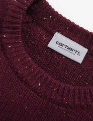 Carhartt Anglistic Wool Sweatshirt - Mulberry Heather