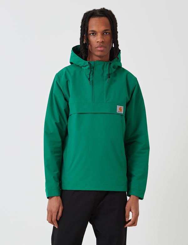Carhartt-WIP Nimbus Half-Zip Jacket (Un-Lined) - Dragon Green
