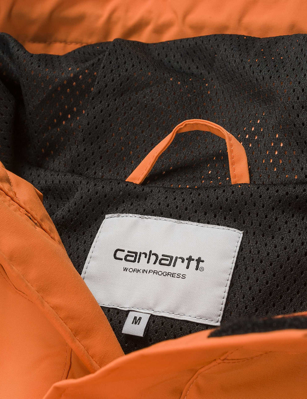 Carhartt Nimbus Half-Zip Jacket (Un-Lined) - Jaffa Orange