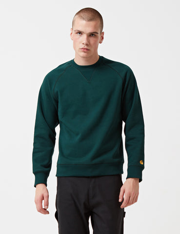 Carhartt Chase Sweatshirt - Parsley Green
