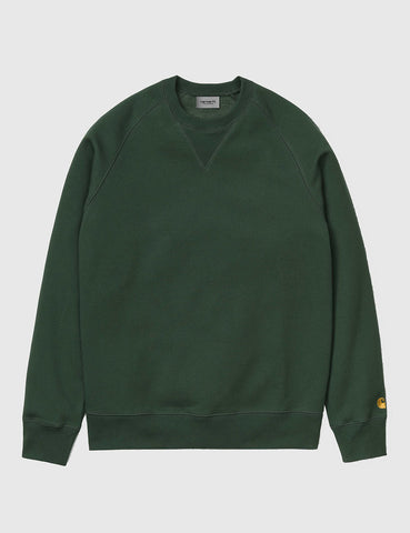 Carhartt Chase Sweatshirt - Fir Green