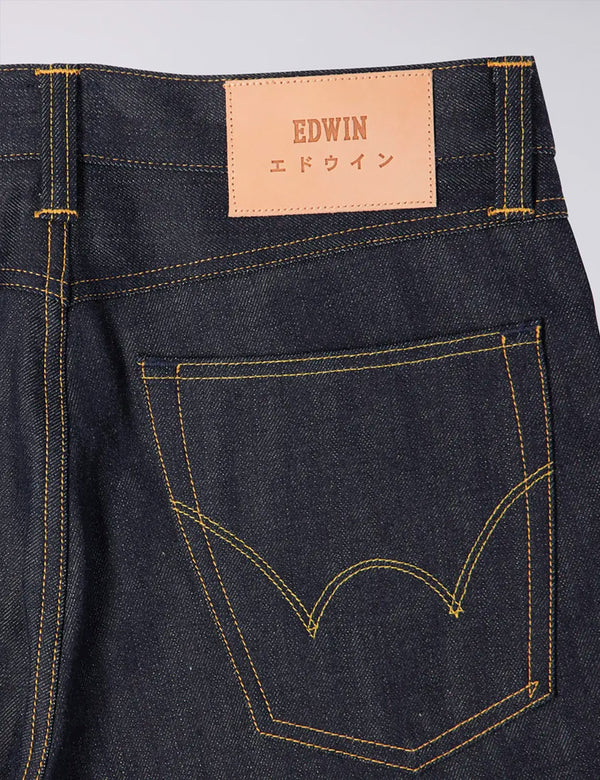 Edwin ED-39 Regular Loose 63 Rainbow Selvage Denim (12.8oz) - Bleu