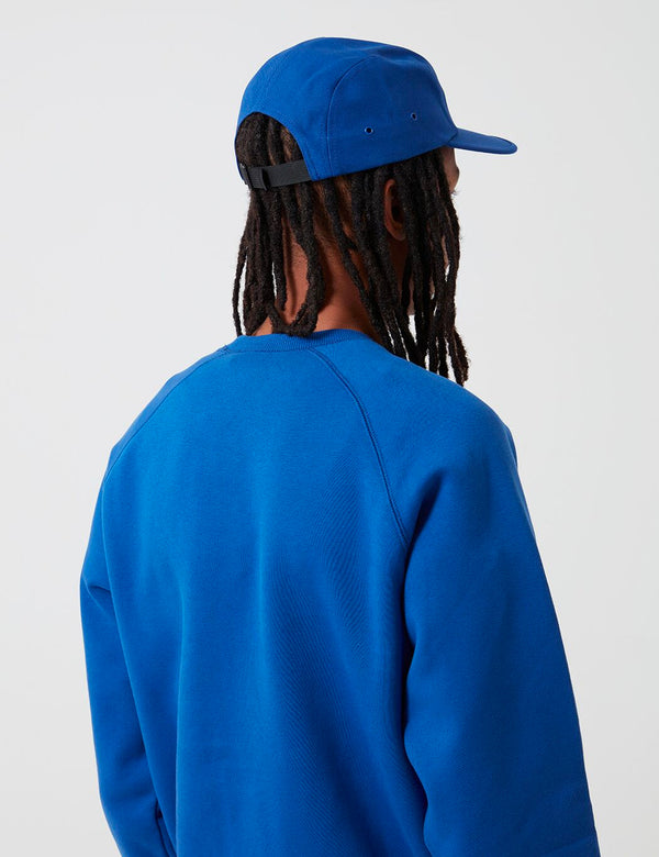 Carhartt-WIP Backley 5-Panel Cap - Submarine Blau