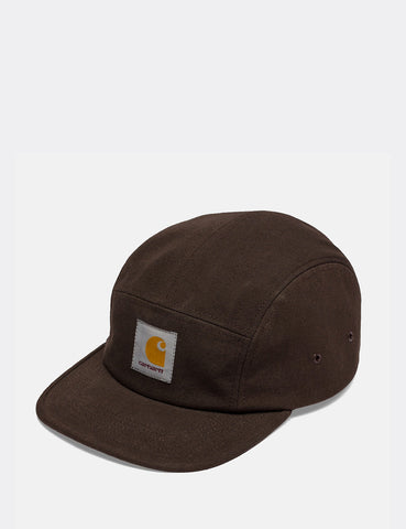 Carhartt Backley 5-Panel Cap - Tobacco Brown
