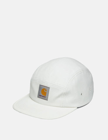 Carhartt Backley 5-Panel Cap - Wax White
