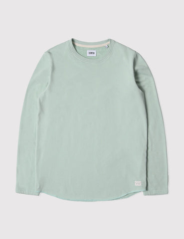 Edwin Terry Long Sleeve T-Shirt - Mint