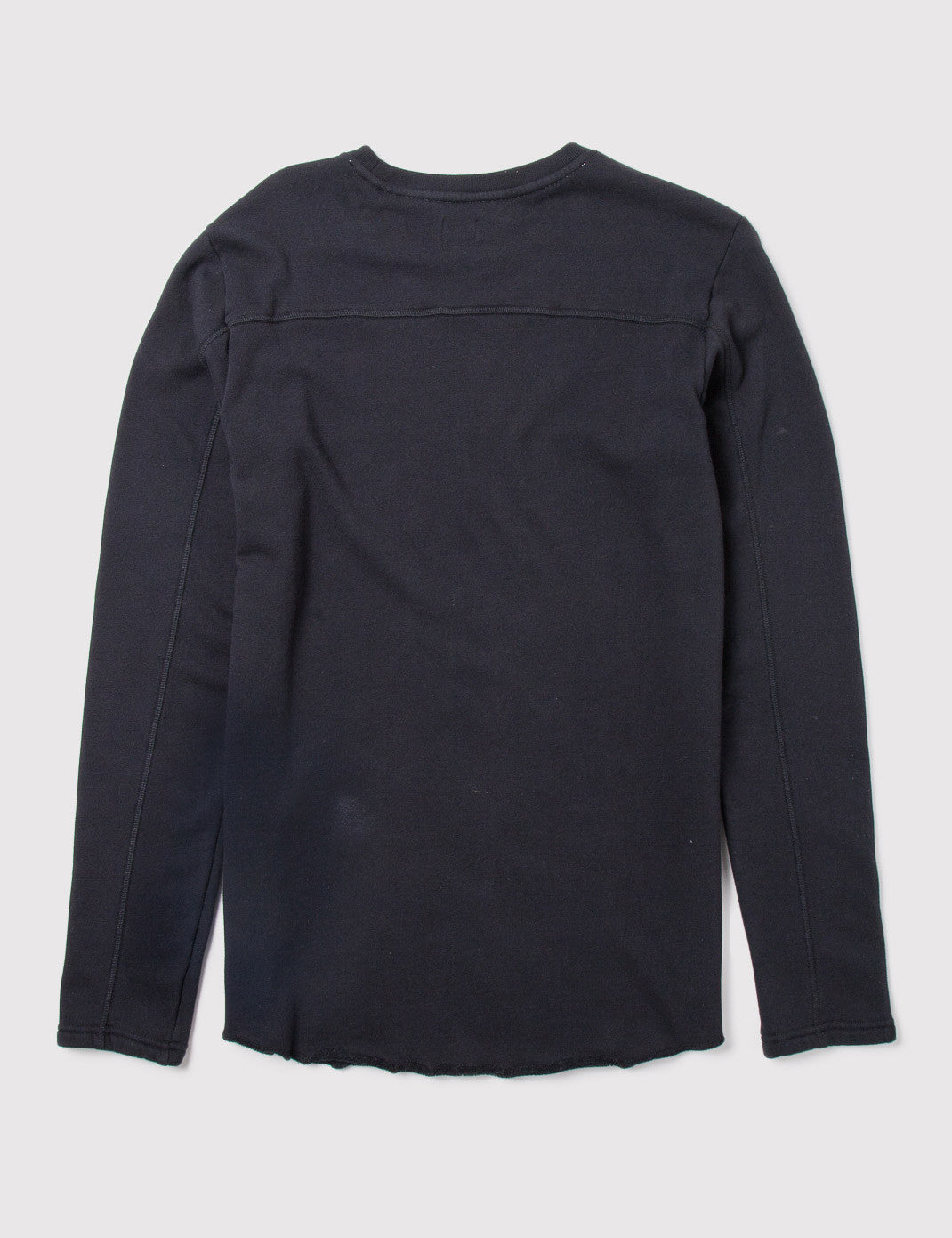 Edwin Longsleeve Terry T-Shirt - Black