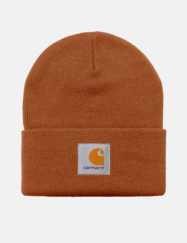 Carhartt-WIP Short Watch Hat - Rum