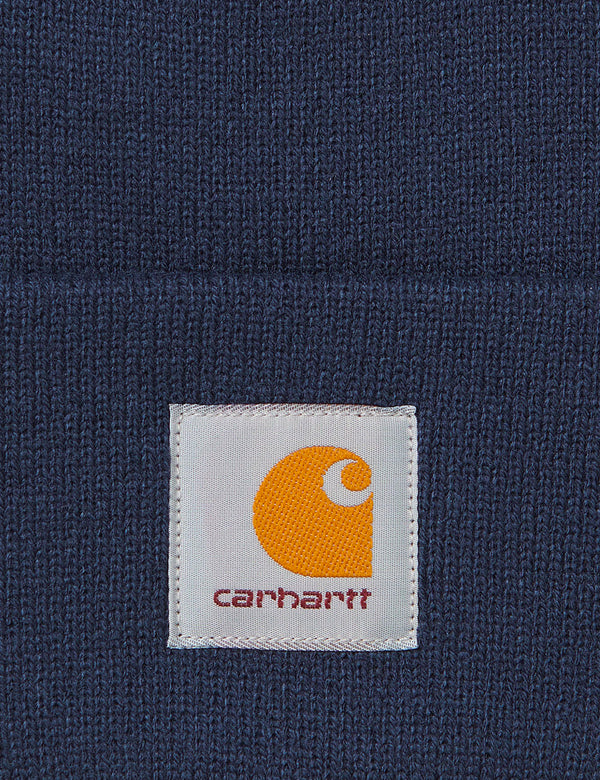Carhartt-WIP Short Watch Hat - Space Blue