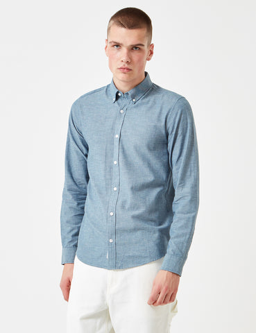 Carhartt Kyoto Shirt (Stone Washed) - Blue