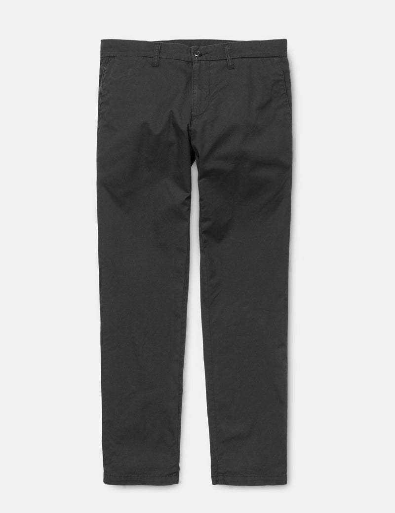 Carhartt-WIP Sid Pant Chino (Popeline Stretch) - Noir