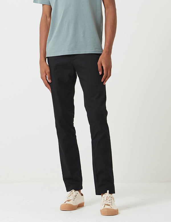 Carhartt-WIP Sid Pant Chino (Stretch Poplin) - Black