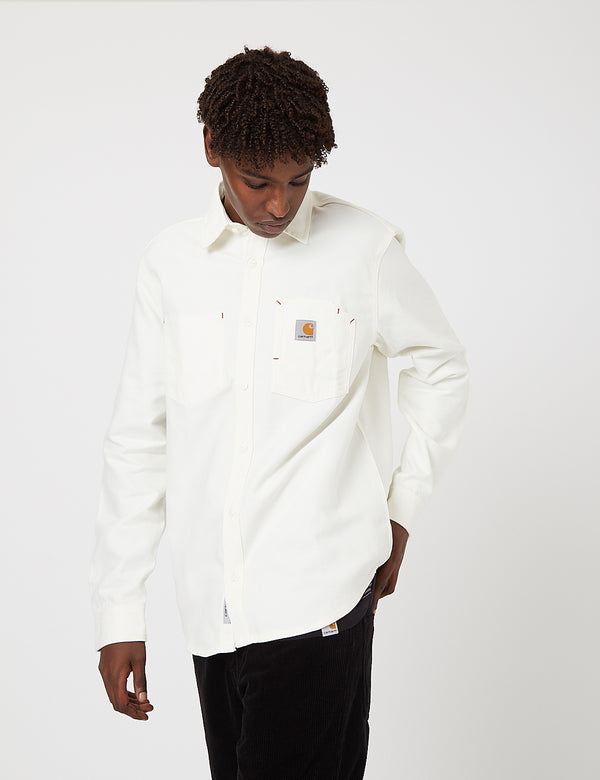 Carhartt-WIP Tony Shirt - Wax rigid