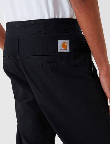 Carhartt-WIP Marshall Jogger Pant (Ripstop) - Black Rinsed
