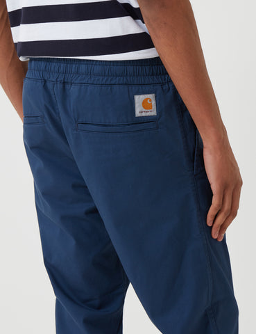 Carhartt Madison Cuffed Pants - Rinsed Blue