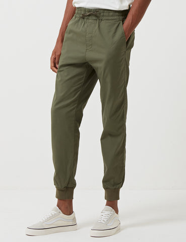 Carhartt-WIP Madison Jogger Cuffed Pants - Rover Green