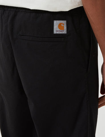 Carhartt-WIP Madison Jogger Cuffed Pants - Black