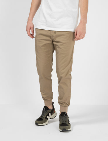 Carhartt-WIP Madison Jogger Cuffed Pants - Rinsed Khaki