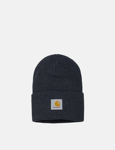 Carhartt-WIP Watch Beanie Hat - Dark Navy Heather