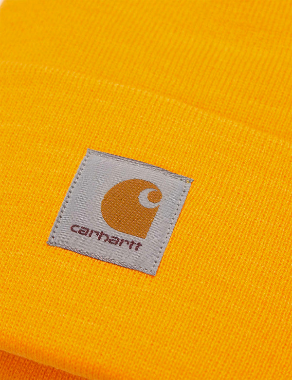 Carhartt-WIP Watch Beanie Hat - Sunflower Yellow