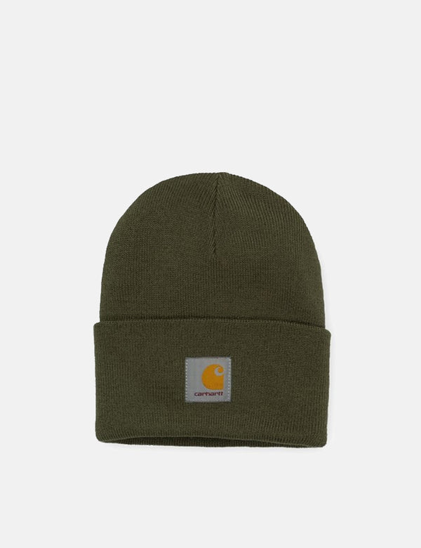 Carhartt-WIP Watch Cap Beanie Hat - Cypress Green